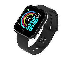 Relógio Inteligente Smartwatch Bluetooth Preto D20