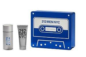 Kit 212 MEN NYC - Eau de Parfum 100 ml + Loção de corpo 100 ml
