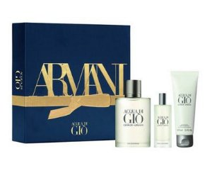 Kit ACQUA DI GIO -  Acqua Di Giò Eau de Toilette 100ml  - Travel Size 15ml  - Shower gel 75m