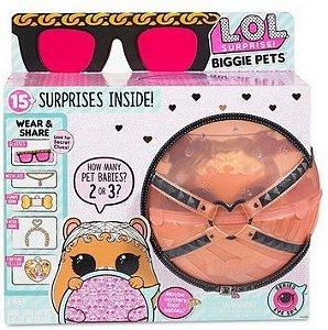 LOL - Brinquedo Mini Boneca Surpresa Lol Biggie Pets