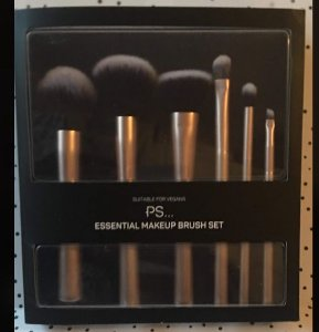 PS - KIT PINCEL ESSENCIAL MAKEUP DOURADO