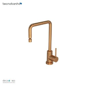 Misturador Monocomando de Mesa para Cozinha Spin Red Gold 2270.GL72.RD Deca