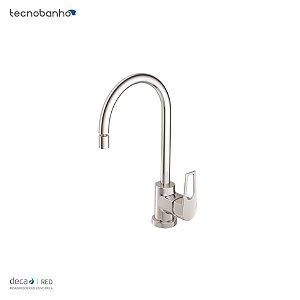 Misturador Monocomando de Mesa para Cozinha Level Mix Cromado 2271.C28 Deca