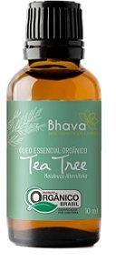 Óleo essencial de tea tree orgânico 10ml