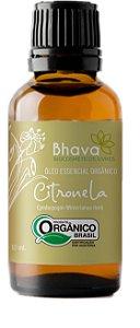 Óleo essencial de citronela orgânica 10ml