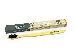 Escova de dente de bambu ADULTO