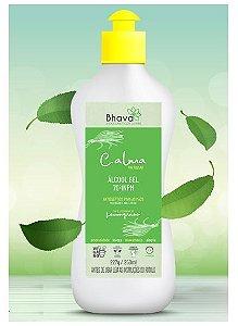 Álcool em gel C.alma com óleo essencial de Lemongrass 250 ml