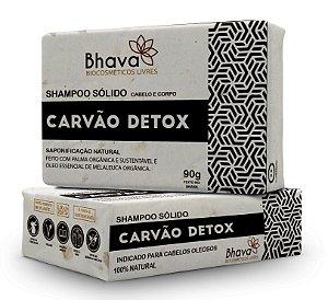 Shampoo sólido Detox 90gr Lançamento linha LIXO ZERO