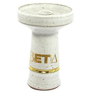 Rosh Beta Bowl Pequeno - Branco - Filete Dourado