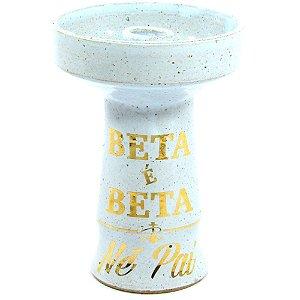 Rosh Beta Bowl Pequeno - Azul Bebe Beta é Beta