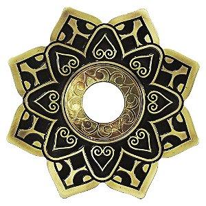 Prato Invictus New Love - Dourado Com Dourado Envelhecido
