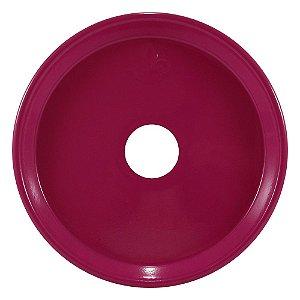 Prato Wire Hookah Grande - Rosa Escuro