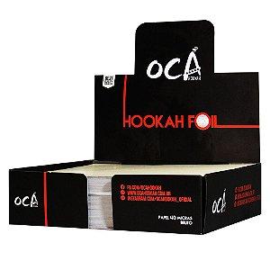 Papel Alumínio Oca Hookah - 500 Unidades
