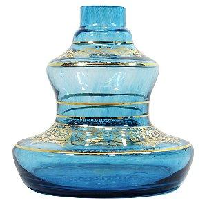 Vaso Shisha Glass Style - Aquamarine