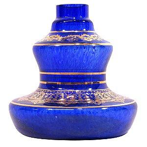 Vaso Shisha Glass Style - Azul