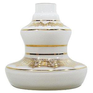 Vaso Shisha Glass Style - Branco