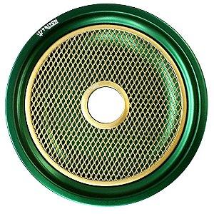 Prato Triton Komanches - Verde / Dourado