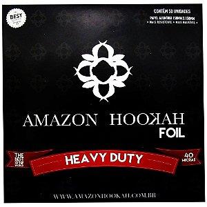 Papel Alumínio Amazon Hookah - 50 Folhas