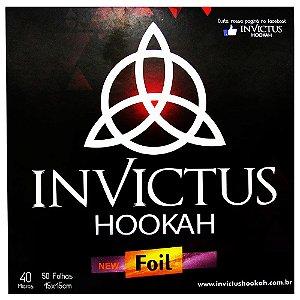 Papel Alumínio Invictus Hookah OUTLET - 50 Folhas