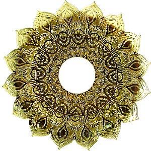 Prato JN Hookah Artemis - Dourado
