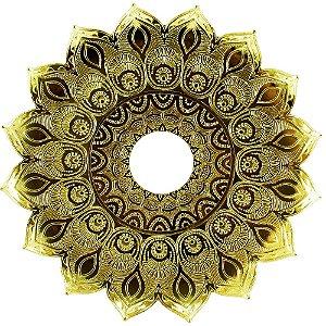 Prato JN Hookah Persia - Dourado