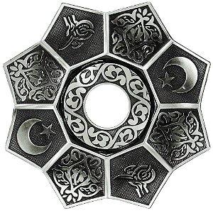 Prato EBS Lotus - Prata Envelhecido