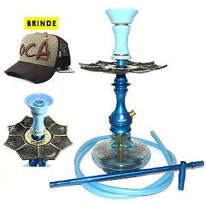 Narguile Ocá Apache - Azul Aladin