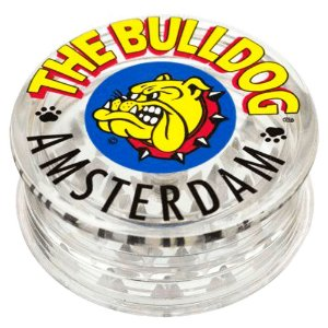 Dichavador bulldog Acrílico 3 Partes - Transparente