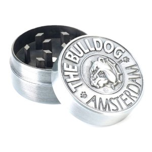 Dichavador Pequeno The Bulldog 2 Partes - Prata