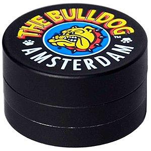 Dichavador Pequeno The Bulldog 3 Partes - Preto Emborrachado