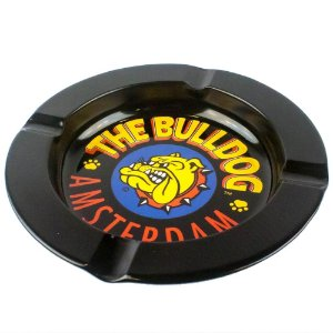 Cinzeiro de Metal The Bulldog - Preto