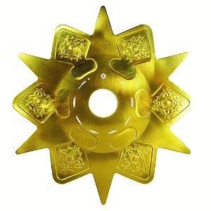 Prato Amazon Astéris - Dourado