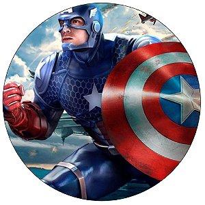 Tapete Zord Capitão América - Modelo 2