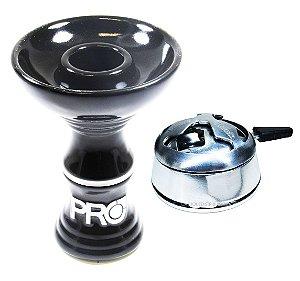 Rosh Pro Hookah Preto-Branco + Kaloud Black Hookah