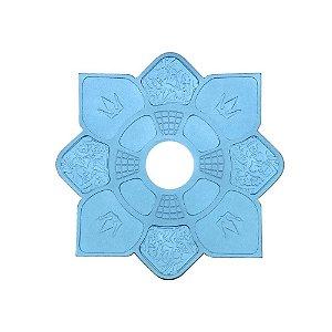 Prato Hookah King Mini Imperial - Azul Bebe