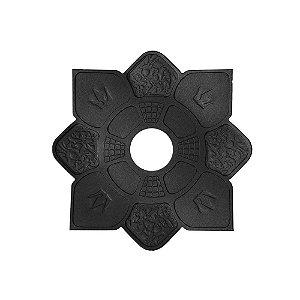 Prato Hookah King Mini Imperial - Preto