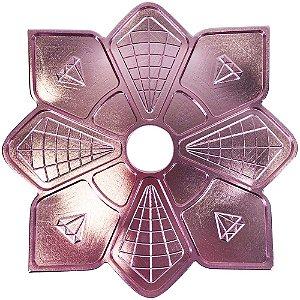 Prato Diamond Rose Pequeno
