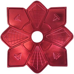 Prato Diamond Vermelho Pequeno