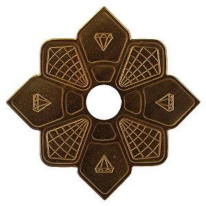 Prato Diamond Bronze Pequeno