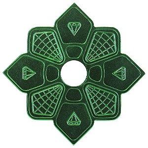 Prato Diamond Verde Pequeno