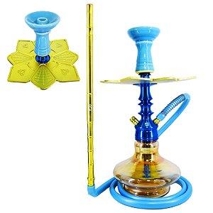 Setup Completo Invictus F5 Small- Azul c/ Dourado