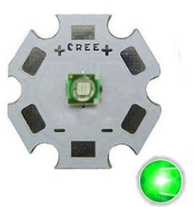 Led Cree Xpe Xp-e 3w Verde