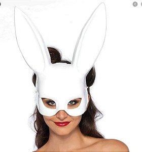 Máscara Coelhinha Sexy BDSM Branca