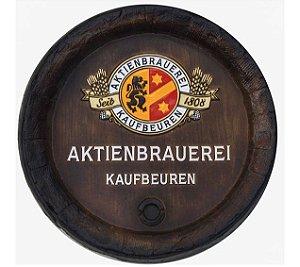 Barril de parede grande em Fibra KG - Decoração - Aktienbrauerei Kaufbeuren Cerveja