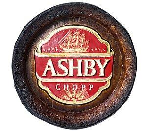 Barril de parede grande em Fibra KG - Decoração - Ashby Cerveja
