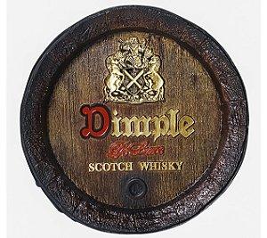 Barril de parede grande em Fibra KG - Decoração - Dimple Whisky