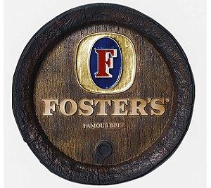 Barril de parede grande em Fibra KG - Decoração - Foster's Cerveja