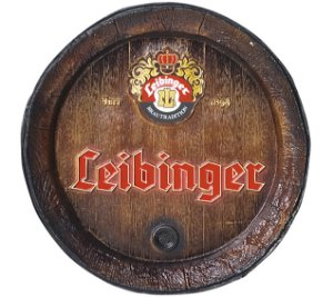Barril de parede grande em Fibra KG - Decoração - Leibinger Cerveja