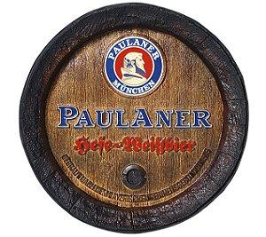 Barril de parede grande em Fibra KG - Decoração - Paulaner Cerveja