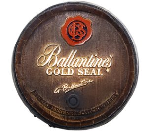 Barril Decorativo KG - Ballantines